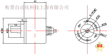 单圈12位半通孔ssi绝对值编码器 绝对值编码器,串行数据,格雷码,二