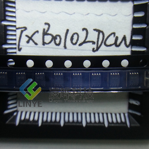 集成电路ic ti/德州 txb0102dcur 丝印nfdr 逻辑ic 全新原装正品