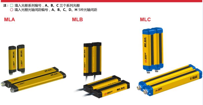 安全光栅安全光幕人体手指保护器光电开关安全传感器MLC-3H04N三种外形直流/交流全系列规格上海穆嘉传感器厂家直销 传感器,光电开关,安全光幕,安全光栅,安全传感器