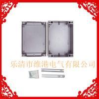 维港200*170*90金属带装饰条铸铝防水盒端子接线盒铝合金盒可任意开孔