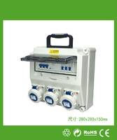 280x280x150mm 专业多媒体信息箱 防水壁挂式实用型插座箱