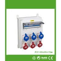 户外专用防水插座配电箱 NP334317-1透视开关配电箱(按实际要求报价)