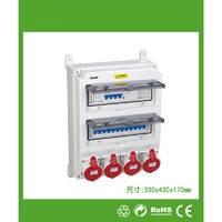 维港 户外专用防水插座配电箱 NP334317-2透视开关配电箱(按实际要求报价)