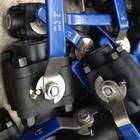 Q61F锻钢三片式球阀