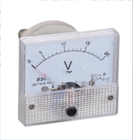 上海厂家85L1-V 指针式交流电压表表头/机械表 AC20V 量程都可做