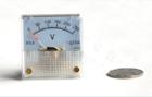 上海厂家91L4-V指针式交流电压表/机械表头 规格齐全 45*45mm