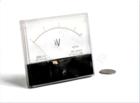 向一电器矩形交流安装式电压表 指针式交流电压表 板表59L1-V