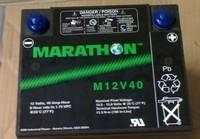 美国GNB蓄电池正EXIDE蓄电池/M12V40大量现货销售/一块包邮现货