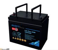 法国路盛蓄电池12LPA90原装正品12v90AH法国路盛免维护蓄电池现货