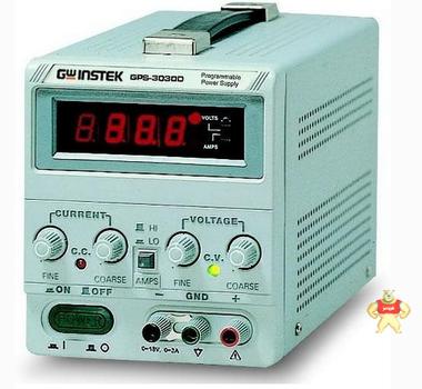 原装台湾固纬GPS-3030D手机维修测试直流稳压电源单路0-30V/0-3A
