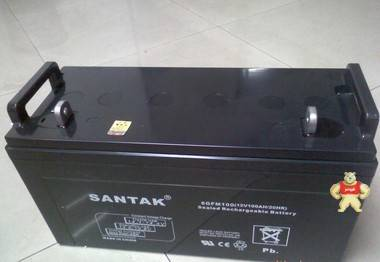 山特蓄电池SANTAK蓄电池6GFM100(12V100AH/20HR)现货供应