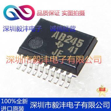 全新进口原装 SN74ABT245BPWR 逻辑IC芯片 品牌:TI 封装:SSOP-16