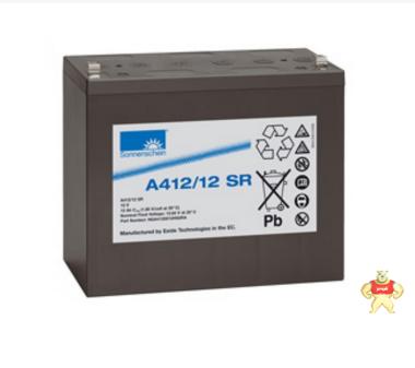 德国阳光蓄电池 德国阳光A412/12 SR  阳光A412/12 SR 德国阳光12V12ah蓄电池