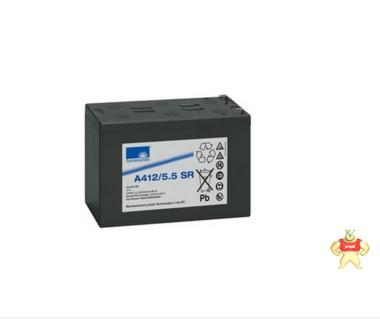 德国阳光蓄电池 德国阳光A412/5.5 SR 阳光A412/5.5 SR蓄电池 德国阳光12V5.5ah蓄电池