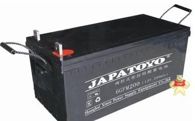 东洋蓄电池6GFM200 TOYO铅酸免维护蓄电池12V200AH/质量保证