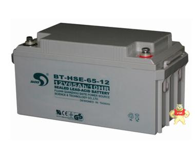 赛特蓄电池BT-HSE-65-12 12V65AH/10HR铅酸免维护蓄电池特价销售