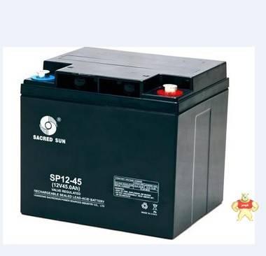 圣阳蓄电池SP12-45 12V45AH山东圣阳UPS电源设备专用蓄电池
