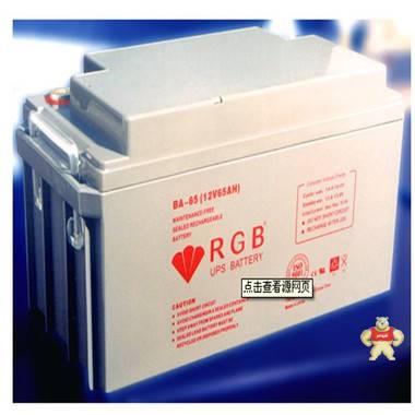 BA-65 美国 RGB 蓄电池 12V65AH 特价 包邮 质保三年