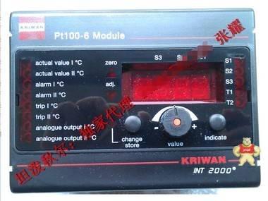 中国独家代理KRIWAN INT2000 Pt100-6 开关放大器