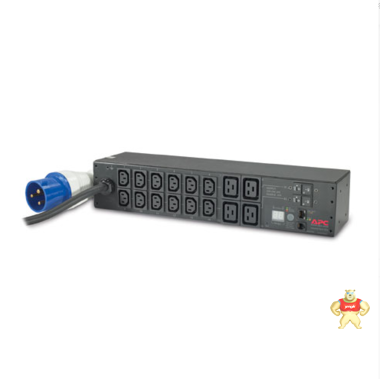 -正品APC RACK PDU, METERED, 2U, 32A AP7822