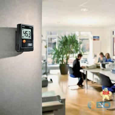 德图 testo 174H 迷你型温湿度记录仪套装(含底座+USB数据线) 便携式温度记录仪 德图 testo 174H,迷你型温湿度记录仪套装,便携式温度记录仪