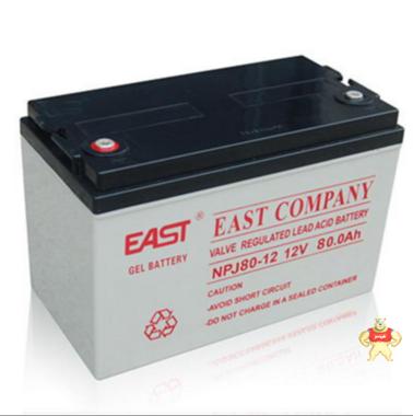 原装正品易事特蓄电池NPJ80-12铅酸免维护蓄电池12V80AH质保三年