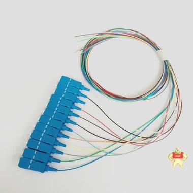 束状尾纤,12芯束状尾纤,SC束状尾纤,方头尾纤