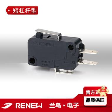 RV-161-1C25 短杠杆型微动开关