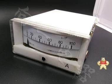 现货供应46L1-A指针安装式AC直角90℃电流测量仪表100uA