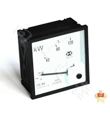 上海厂家51T6-KW九十度交流AC指针船舶有功功率仪表规格