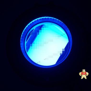 HANMI  蓝色LED 外置同轴光源+环形光源  组合光源 DC12V
