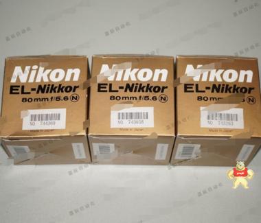 [全新原装]NIKON EL-NIKKOR 80mm f/5.6 工业微距镜头 专业放大头