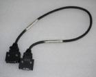 三菱伺服MR-J2S驱动器通信电缆MR-J2HBUS05M 0.5米压接式 9成新