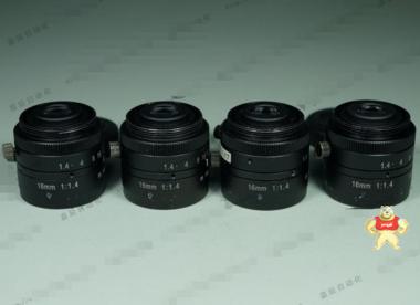 VST SV-1614V 2/3英寸CCTV定焦镜头 16MM 1:1.4 工业镜头