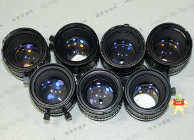 """二手 TV LENS 25mm 1:1.4 CCTV工业定焦镜头 2/3"""" 成色一般"""