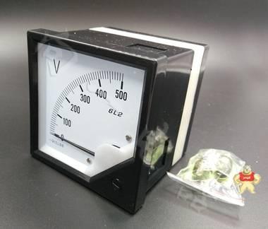 标准6C2-V指针安装式DC直角90℃电压测量仪表品牌