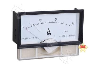 上海向一电器59C23指针安装式方形外形90℃电流测量仪表接线图解