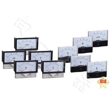 经济型44L17-A指针安装式方形外形90℃电流测量仪表108*60