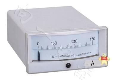 标准46C1指针安装式直流直角90℃安培测量仪表维修