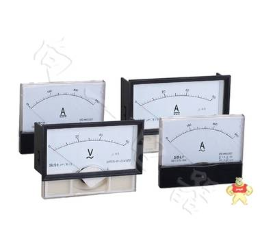 高品质59L19-V指针安装式交流直角90℃伏特测量仪表接线图解