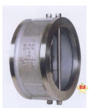 厂家直销H77H蝶形止回阀(图)质量优质