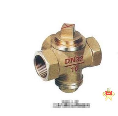 厂家专业生产X16W三通全铜旋塞阀(图)质量优质低价批发