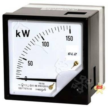 标准6L2-KW交流九十度单相有功功率机械表2.5MW