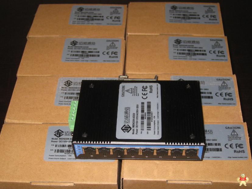 MIEN2208-AD220迈威8口百兆非网管型卡轨式交换机 MIEN2208-AD220,MIEN2208,迈威8口百兆,迈威交换机,迈威8口交换机
