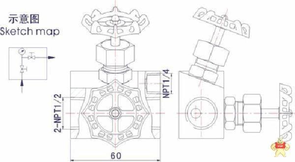 J21W外螺纹针型阀 螺纹针型阀,直通式针型阀,针型阀,不锈钢针型阀,外螺纹针阀