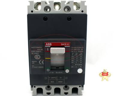 ABB塑壳断路器 A1A125 TMF80/800 FF 3P 80A SACEA1