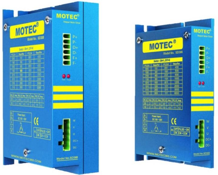 MOTEC步进驱动器SD366 三相步进电机步进驱动器厂家直销 特价销售