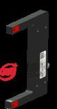 U80凹型金属激光NPN/PNP常开常闭光电开关穆嘉传感器