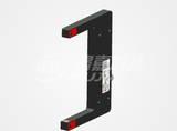 U180凹型金属激光NPN/PNP常开常闭光电开关穆嘉传感器