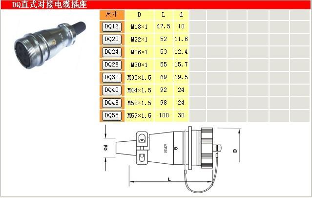 澳普龙连接器厂家16J5TQ 电缆插头 澳普龙连接器,航空连接器,工业插头插座厂家,电源接插件,AOPULO连接器